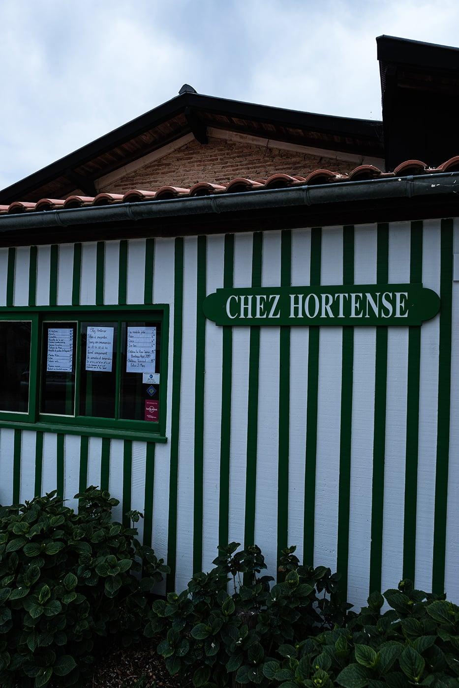 Chez Hortense au Cap Ferret