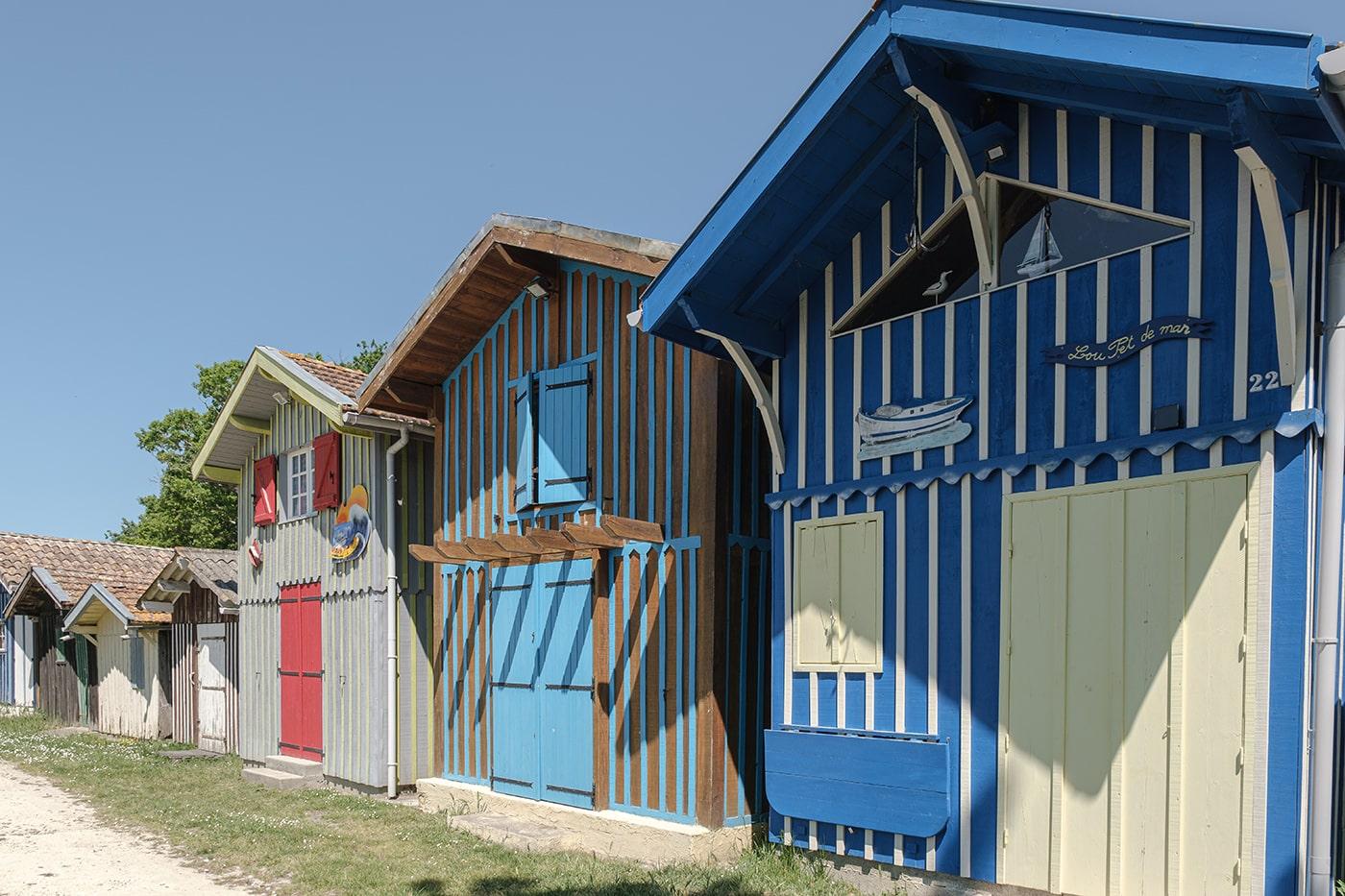 Port de Biganos cabanes pêcheurs bassin d'Arcachon