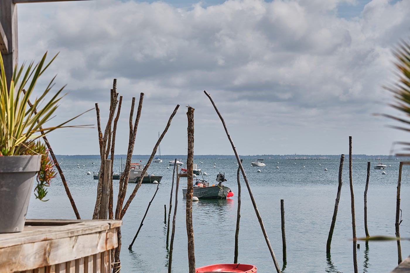 port village de lherbe cap ferret road trip bassin d'arcachon