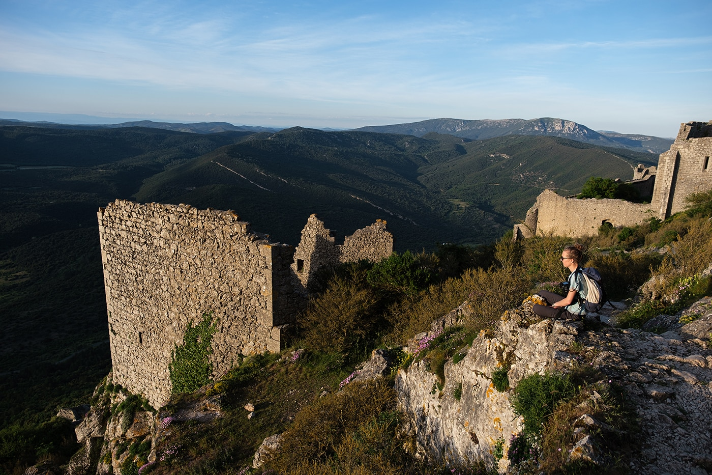 Visiter le château cathare de Peyrepertuse