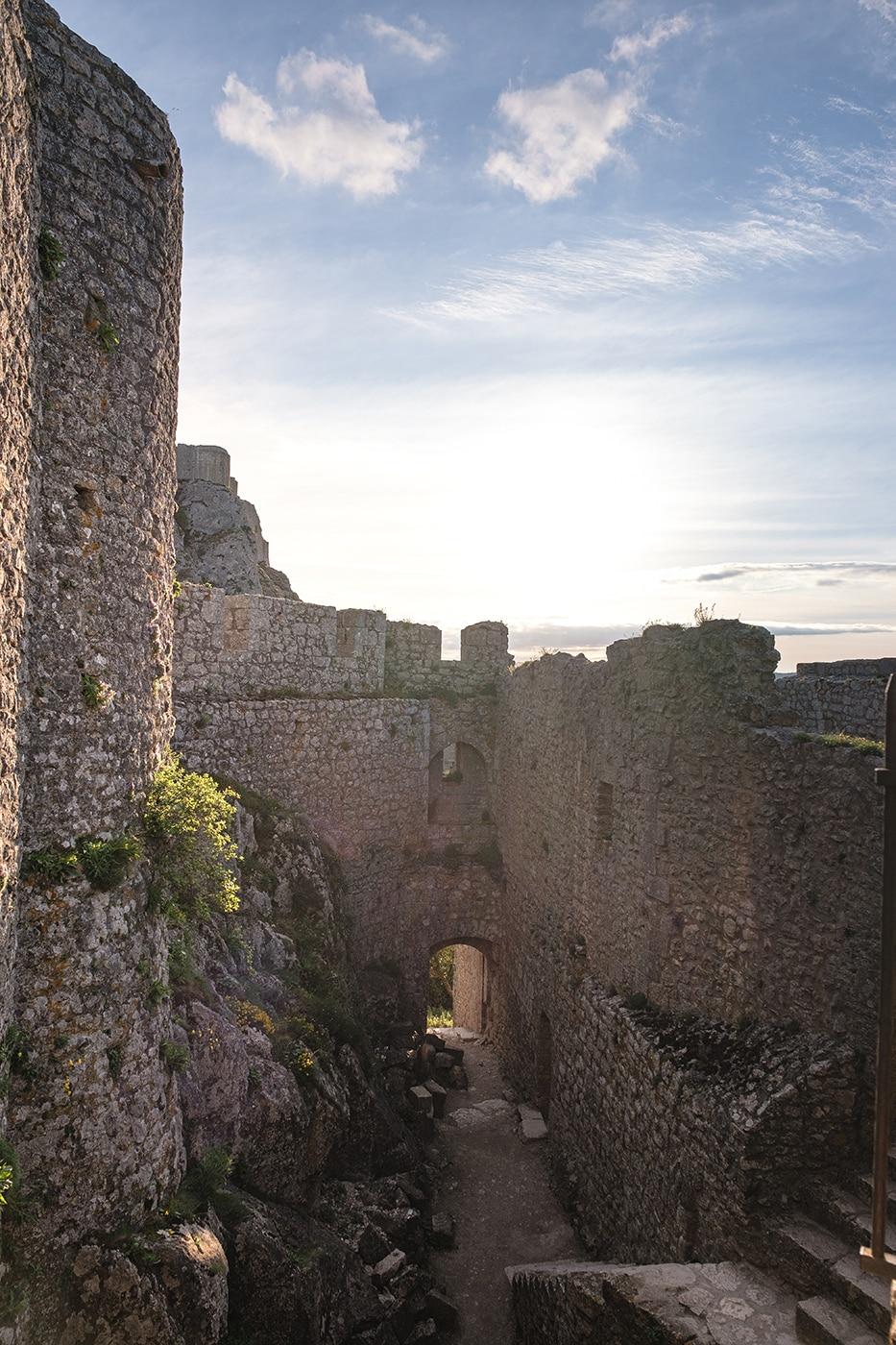 Peyrepertuse château cathare