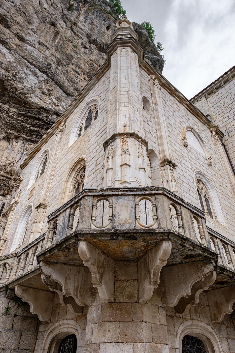 Église Rocamadour vue extérieur