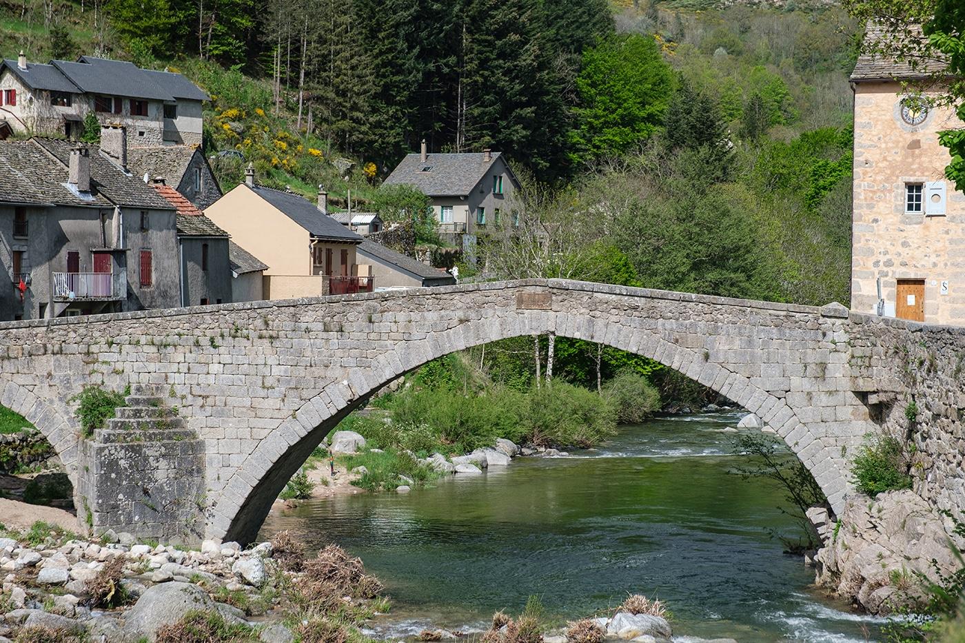 Le pont de Montvert en Lozère