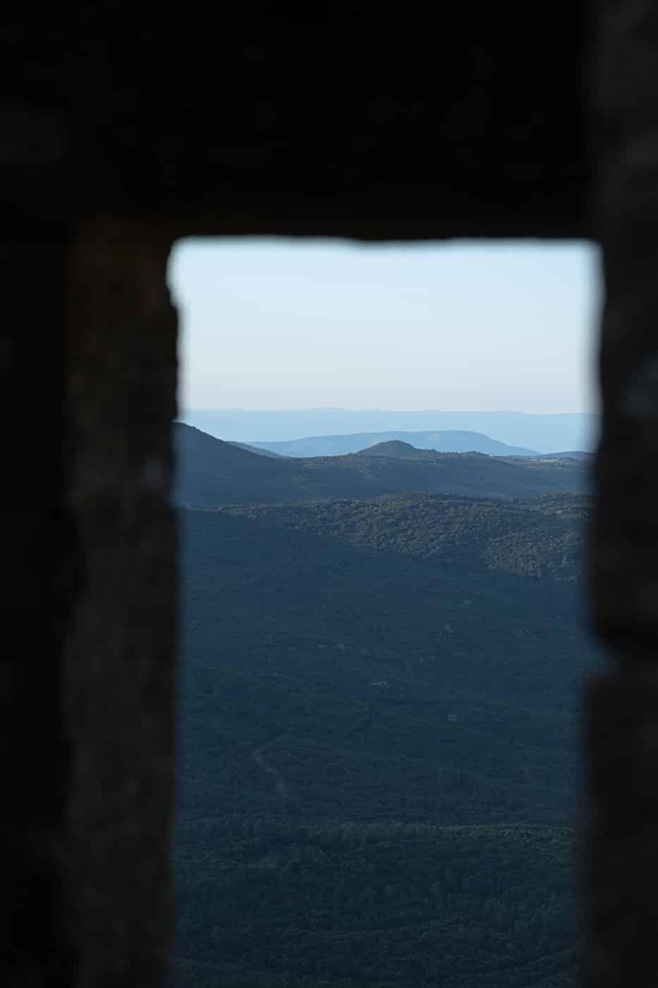 Fenêtre peyrepertuse