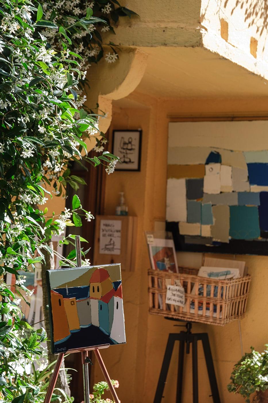 Galerie d'art à Collioure