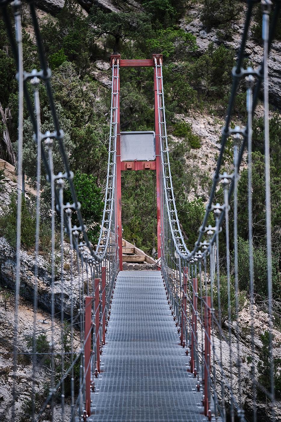 Pont du Congost de Mont Rebei