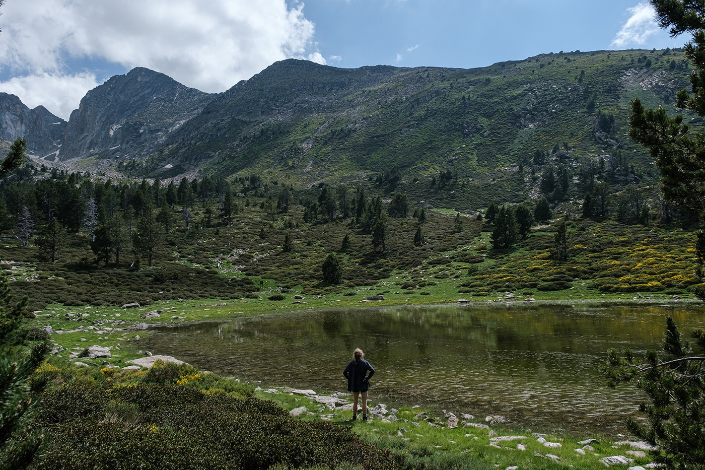 Lac estagnol refuge des Cortalets