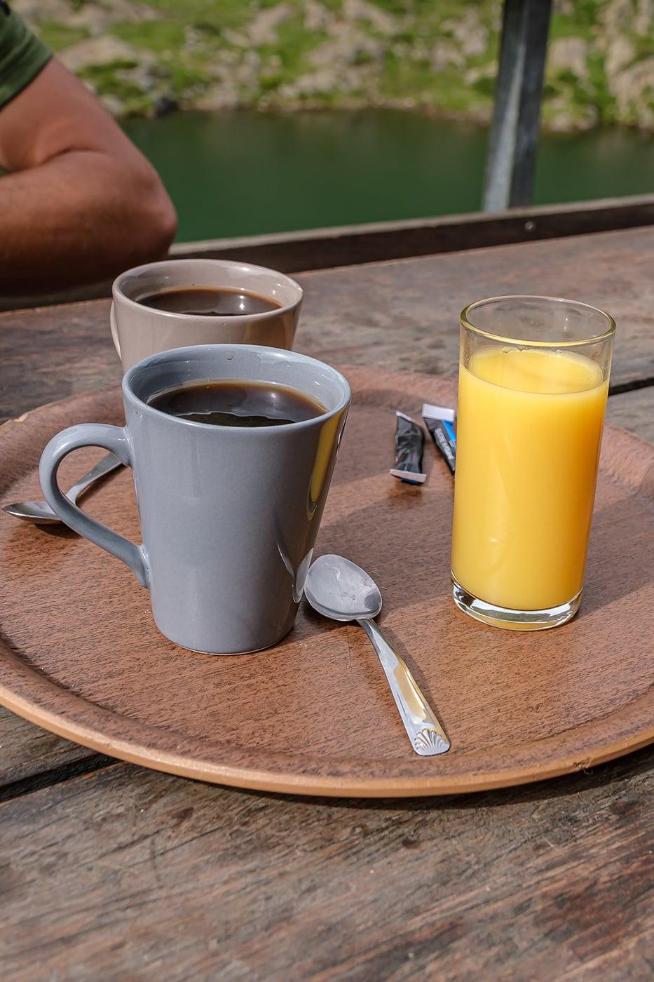 café au refuge du Pinet