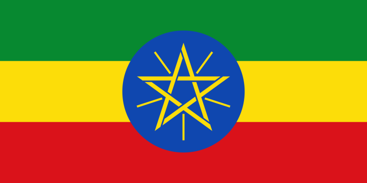 Flag of Ethiopia (Image Credit: Wikimedia Commons)