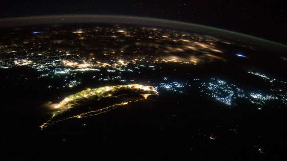 A view of Taiwan and part of mainland China from the International Space Station on July 27, 2014. (Image Credit: NASA)