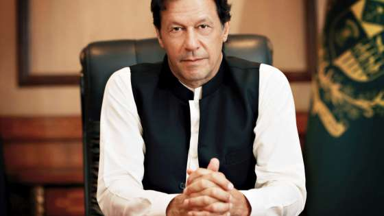 The official photo of Pakistani Prime Minister Imran Khan, taken after assuming office in August 2018. (Image Credit: Government of Pakistan)