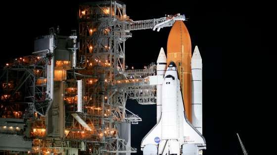 The Space Shuttle Endeavor before liftoff at the Kennedy Space Center on August 8, 2007. (Image Credit: Steve Jurvetson via Flickr)