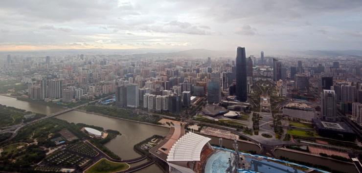 Guangzhou china busiest port world