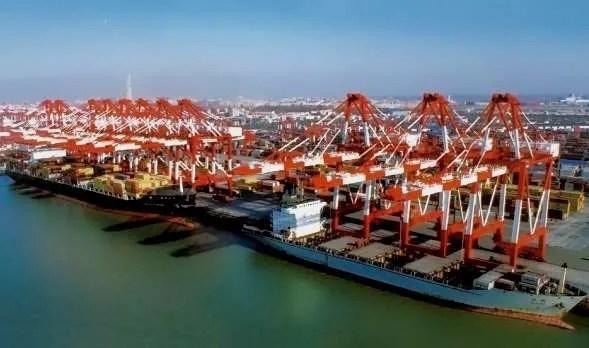 Qingdao port busiest world