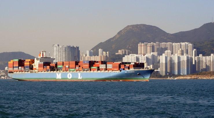 hong kong busiest port world china