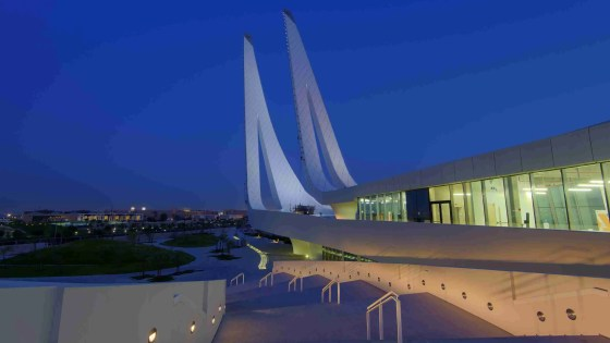 A view from the Education City Mosque in Al Rayyan, Qatar. (Image Credit: Alex Sergeev)