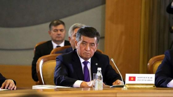 Kyrgyz President Jeenbekov