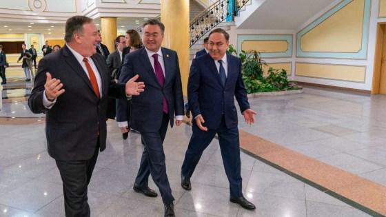 Pompeo Kazakhstan