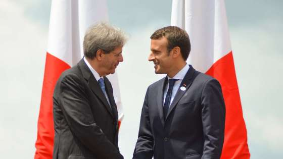 france italy relations