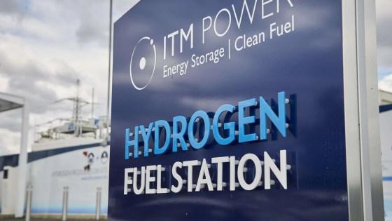 hydrogen fuel station clean energy