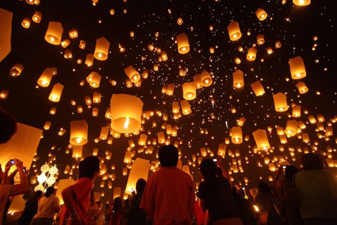 ALL YOU NEED TO KNOW ABOUT THE THAI LANTERN FESTIVAL