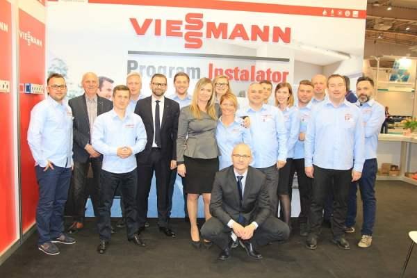Cały zespół Viessmanna, Targi Instalacje 2016