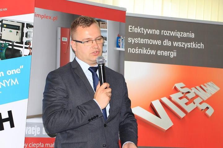 Radosław Grech, CEO w Sulechowie