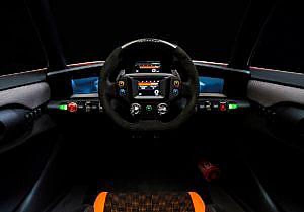 Prototyp Nissan BladeGlider - wnętrze pojazdu, źródło: Nissan Motor Corporation
