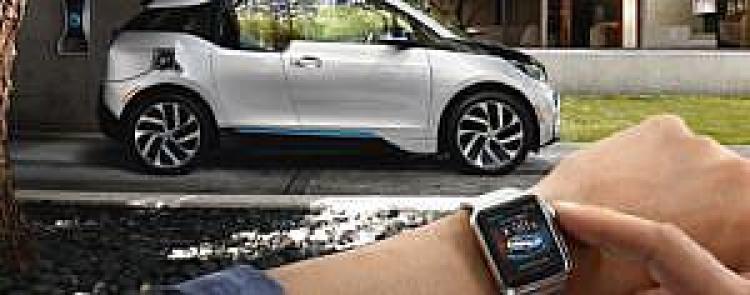 BMW samochód elektryczny