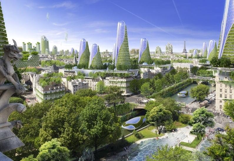 Smart City Paryż 2050