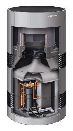 Vitocal 300-A - wnętrze urządzenia