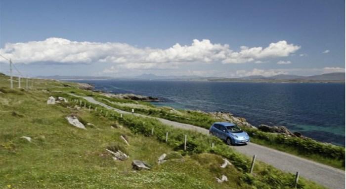 Nissan Leaf w Szkocji