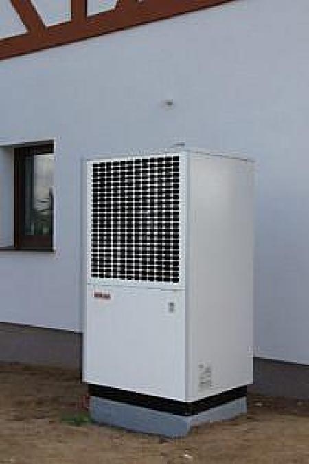 Pompa ciepła LA S-TU na instalacji