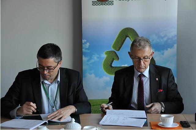 Podpisanie umowy na dofinansowanie PV w Raciborzu
