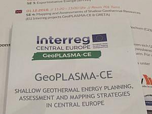 GeoPLASMA-CE mapa płytkiej geotermii