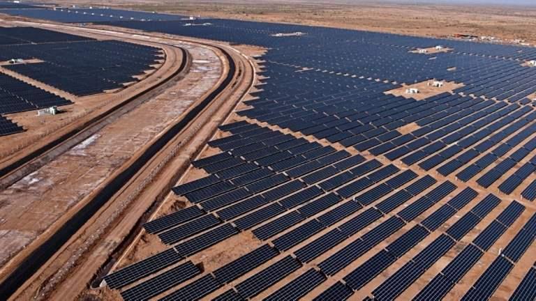 Kamuthi Solar Plant w Indiach