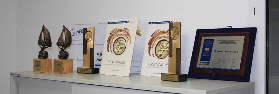 Nagrody firmy Spirvent