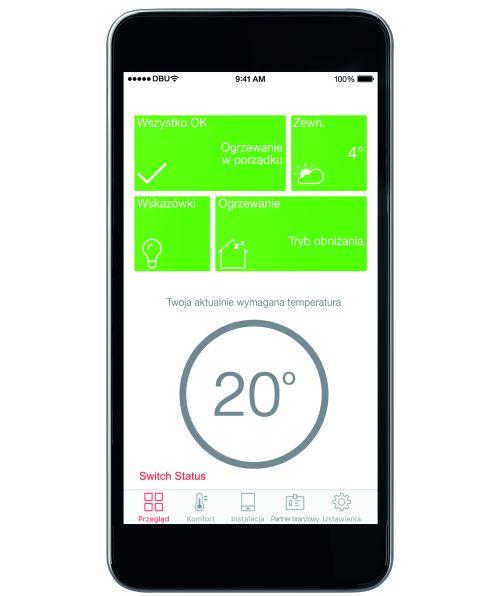 aplikacja mobilna, system grzewczy, ViCare, viessmann