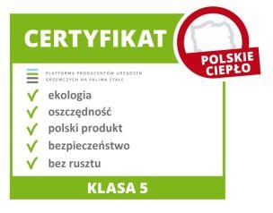 certyfikat kocioł na pellet