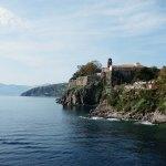Arrivée à Lipari par la mer