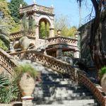Sicile, taormine, jardins