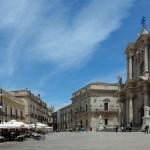 Syracuse, Place du Duomo