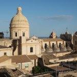 Noto, Duomo vue du clocher d'un autre église