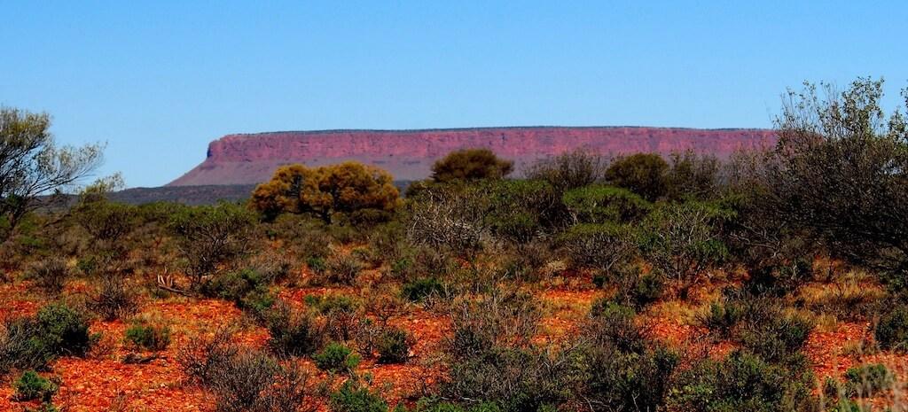 Australie - Centre rouge