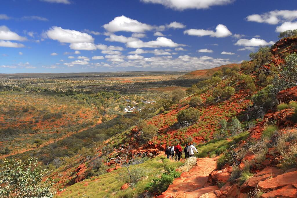 Australie - Centre rouge - Kings canyon