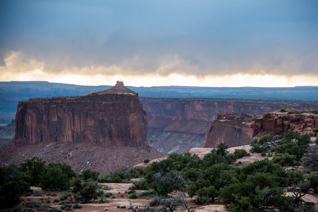 Orage à Canyonland