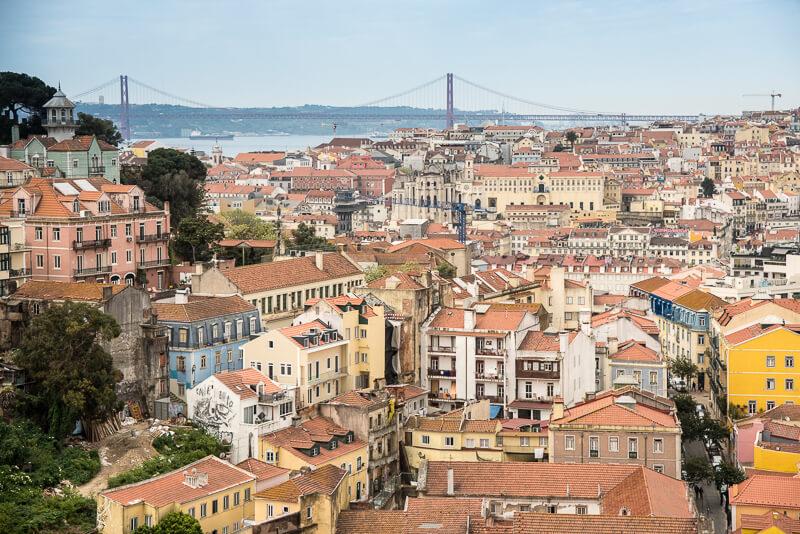 Lisbonne - panorama
