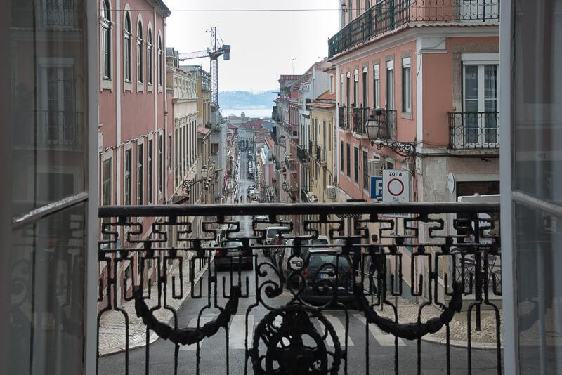 Lisbonne - Appartement avec vue (devenu boutique branchée)