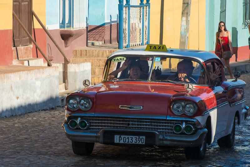 Cuba - Trnidad - couleurs
