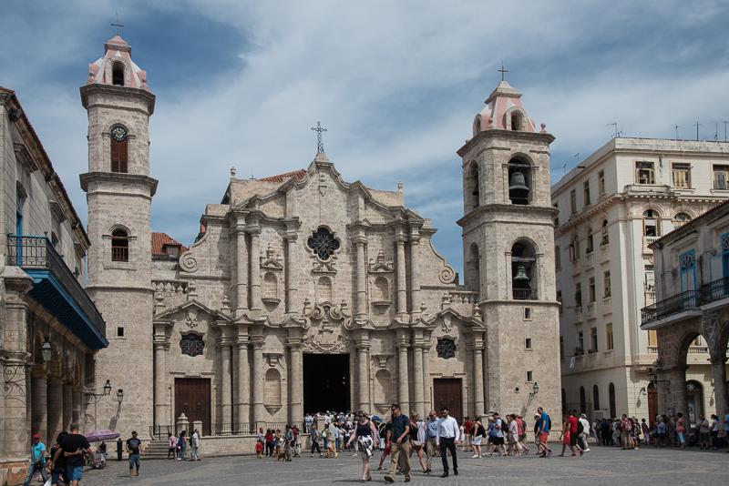 Cuba - La Havane - cathédrale